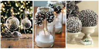 21 Holiday Pine Cone Crafts  Ideas For Pinecone Christmas DecorationsChristmas Pine Cone Crafts