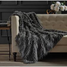 Hotel Faux Fur Throw - Walmart.com & Hotel Faux Fur Throw Adamdwight.com