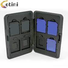 Hộp Đựng Thẻ Nhớ Micro Sd Sdxc Bằng Nhựa - Thẻ nhớ máy ảnh