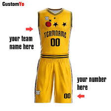Basketball Jersey Design White Green Fashion Design Custom Yellow Red Green White Basketball Shirts Sublimation Reversible Basketball Uniform