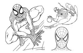 Small Picture Spiderman Coloring Pages Print Spiderman Print adult