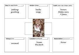 Aphasia Chart Activities For Aphasia Groups Vol 1 Semantic Feature