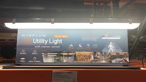 Solar Motion Detector Lights Costco Winplus Led Utility Light With Motion Sensor Costco Flicker