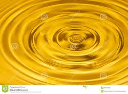 Gold Water Ripple Abstract Background Stock Image Image Of Nature