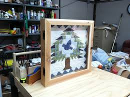 Lap Quilt Shadow box - by 49bill @ LumberJocks.com ~ woodworking ... & image image image Adamdwight.com
