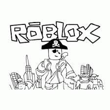 Roblox Kleurplaten Leuk Voor Kids