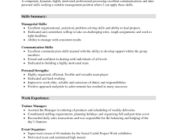 What To Write In Communication Skills In A Resume Resume Template