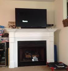 Removing ventless gas fireplace and mantel - DoItYourself.com ...