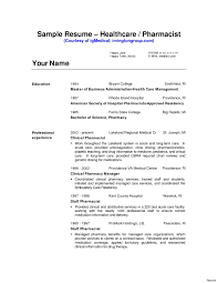 Clinical Pharmacist Cover Letter Sample Resume Genius Inside Of