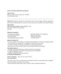 Accounting Resumes Samples Interesting Examples Of Accounting Resumes Resume Samples For Accounting Jobs