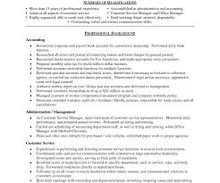 Retail Resume Skills Retail Manager Resume Template Best Customer