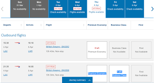 Ba Avios Upgrade Chart How To Upgrade To Business And First Class On British