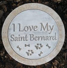 details about saint bernard stepping stone mold concrete plaster mold 10 x 1 5