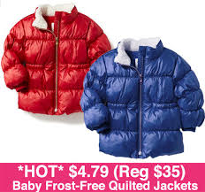 HOT* $4.79 (Reg $35) Baby Frost-Free Quilted Jackets & *HOT* $4.79 (Reg $35) Baby Frost-Free Quilted Jackets Adamdwight.com