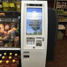 Vending Machine Bitcoin Delectable Bitcoin ATM In Brooklyn Quick Bus Deli Grocery