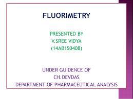 Fluorimetry