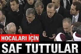 Erbakan'ın cenaze töreninde büyük izdiham - izle