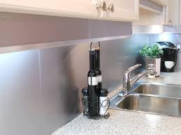 kitchen backsplash stainless steel tiles: modern large stainless steel backsplash minimalist kitchen design white mosaic granite kitchen countertop grey distressed