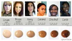 Younique Bb Flawless Cream Color Chart Find Your Shade