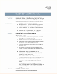 Social Media Specialist Sample Resume Rn Sample Resume