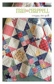 Scrappy Stars Quilt / May Chappell & Image of Scrappy Stars Quilt ... Adamdwight.com
