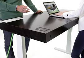 Futuristic High-Tech Office Desk
