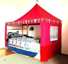 tent over bed