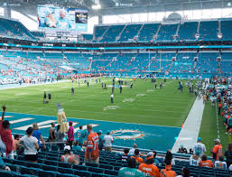 Miami Dolphins Hard Rock Stadium Seating Chart Hard Rock Stadium Section 102 Seat Views Seatgeek