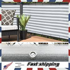 outdoor privacy screen net for deck