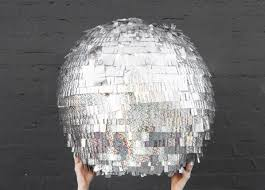 Disco Ball Decorations Cheap Extraordinary 32 Dope DIY Decorations For A Dope New Year's Eve Party