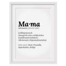 Bild Mit Rahmen Die Definition Von Mama Hochformat 43