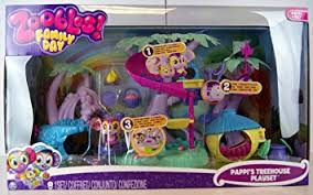 With Friends Treehouse Playset Set Of Game Superaccessoriato ZooblesZoobles Treehouse Playset