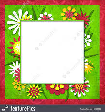 templates summer funny cutout frame for photo or text