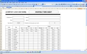 Free Monthly Timesheet Template Excel 037 Template Ideas Time Sheet Templates Free Monthly