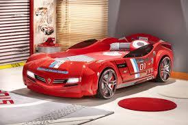Car bed kids bedroom - Red Italia Car Bed modern-kids