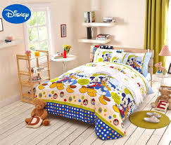 boys full bedding sets mickey mouse duck comforter bedding sets full queen bedspreads cartoon cotton bedding boys full bedding sets