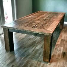 barn board furniture plans. Barn Board Furniture Plans Dining Room Tables Regarding 8 Reclaimed Wood .