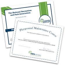 Nrpa Certificate Programs National Recreation And Park