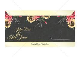 Alia Designs Invitations Wedding Invitation Letter Design Vector Image 1997378
