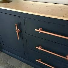 modern cabinet pulls. Modern Cabinet Pulls Long Pull Painted Cabinets With Copper Door This Makeover Just Happened . L