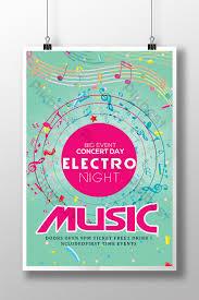 Concert Flyer Templates Free Vintage Music Concert Flyer Templates In Youth Style