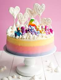 super cute my little pony cake