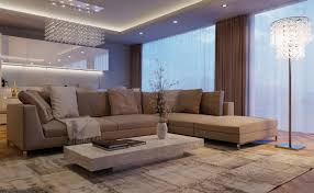 U Living Room  Taupe Furniture Ideas Renovation
