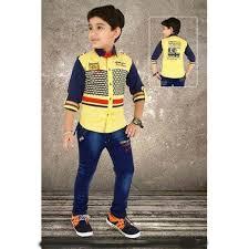 Pant And Shirt Kids Designer Pant Shirt At Rs 935 Piece Kids Pant Id 13016380112