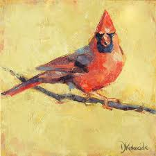 deb kirkeeide s expressive paintings of birds