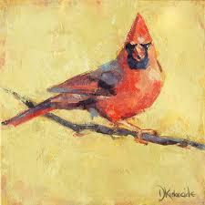 deb kirkeeide s expressive paintings of birds