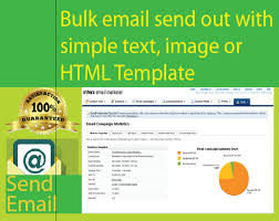 Send Out Bulk Email With Text Images Html Templates
