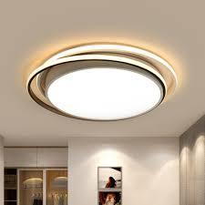 white flush ring light