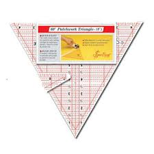 Quilting Ruler 60 Degree Triangle 12