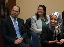 Image result for pics of reps omar and tlaib at cair
